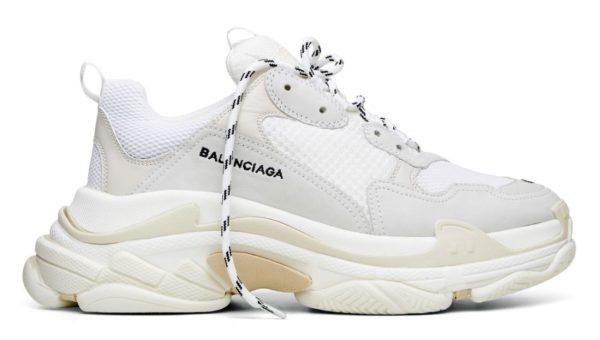 Низкие мужские белые кроссовки