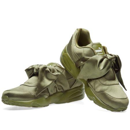 Puma x Rihanna Fenty Bow зеленые(35-40)