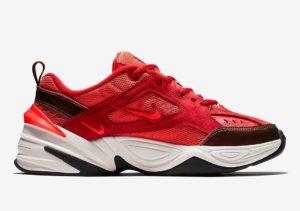 Кроссовки Nike M2K Tekno красные (35-44)