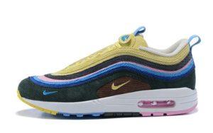 Nike Air Max 1/97 (Light Blue/Fury Lemon) (36-44)