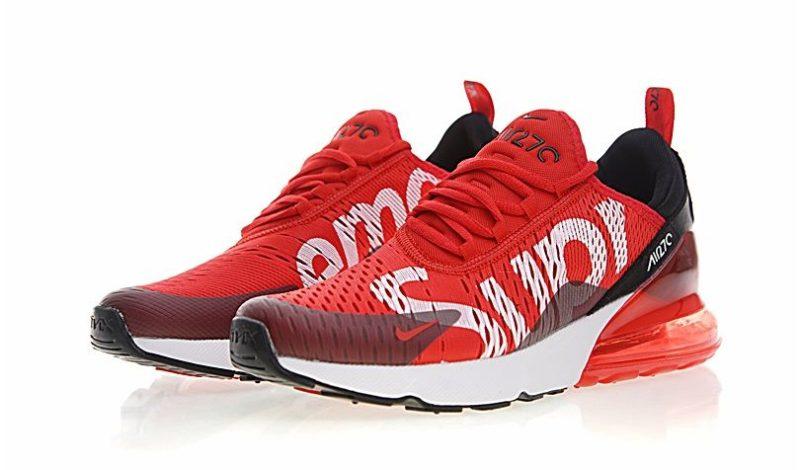 Nike Air Max 270 Supreme x красно-белые (35-44)