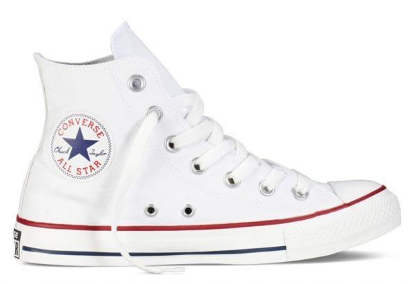 Converse All Star высокие белые white (35-45). Конверс Ол Стар