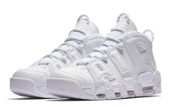 Nike Air More Uptempo белые 40-45