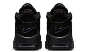 Nike Air More Uptempo черные 40-45