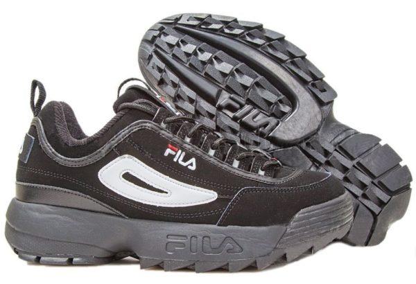 Мужские кроссовки Fila из нубука