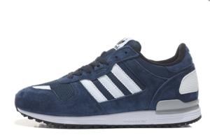 adidas zx 700 мужские синие (40-44)