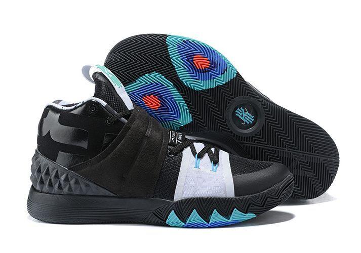 Nike Kyrie Hybrid Black/White/Green черные (40-45)