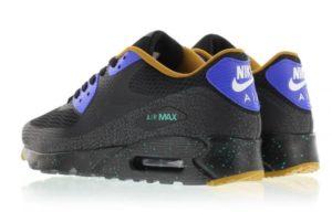 Nike Air Max 90 Ultra Essential черные с синим (40-44)