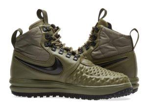 Nike Air Force 1 Lunar Duckboot зеленые (40-44)