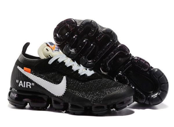 Nike Air VaporMax OFF-WHITE x black черные (40-44)
