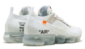 Nike Air VaporMax OFF-WHITE x white белые 40-44