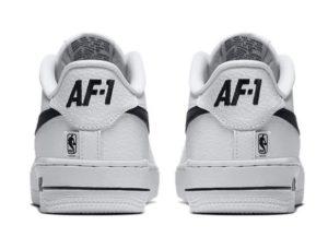 Nike Air Force 1 LV8 NBA бело-черные (40-45)
