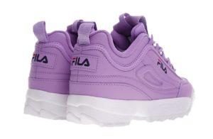 Fila Disruptor 2 purple фиолетовые (35-39)