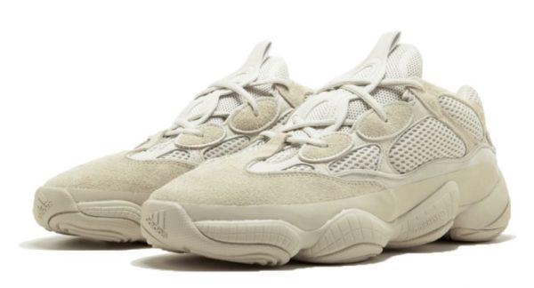 Adidas Yeezy Boost 500 white белые (35-44)