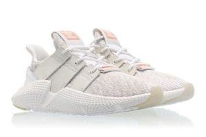 Adidas Prophere White Grey белые с серым (35-44)