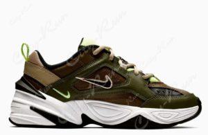 Nike m2k tekno хаки камуфляж 35-44
