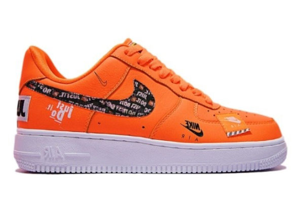 Кроссовки Nike Air Force x OFF White оранжевые (40-44)
