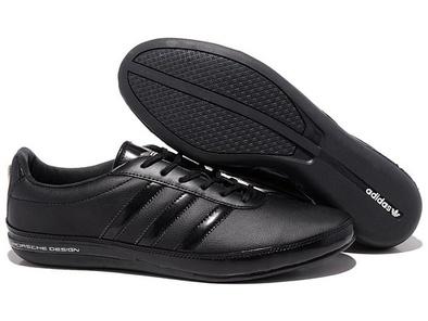 Adidas Porsche Design S3 leather black черные (40-45). Адидас порше дизайн с3