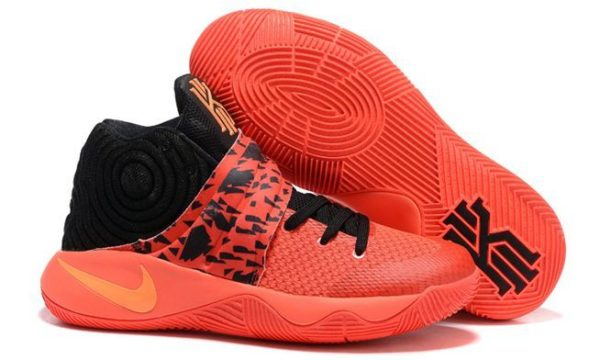 Nike Kyrie 2 orange black оранжевые (40-45)