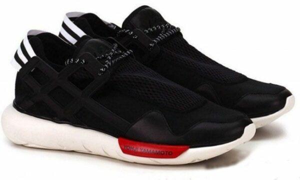Adidas Y-3 Qasa Racer черные с красным (39-44)