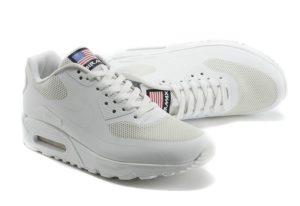 NIKE AIR MAX 90 HYPERFUSE White белые USA (35-44)