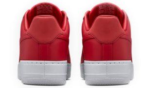 Nike Air Force 1 Lab Low красные (35-40)