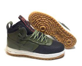Nike Air Force 1 Lunar Duckboot оливковые (40-44)