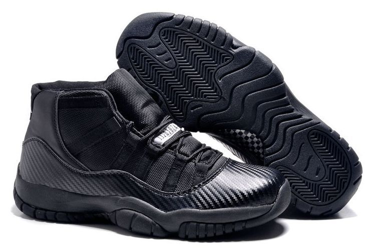 Nike Air Jordan 11 Retro Carbon Black черные 40-45