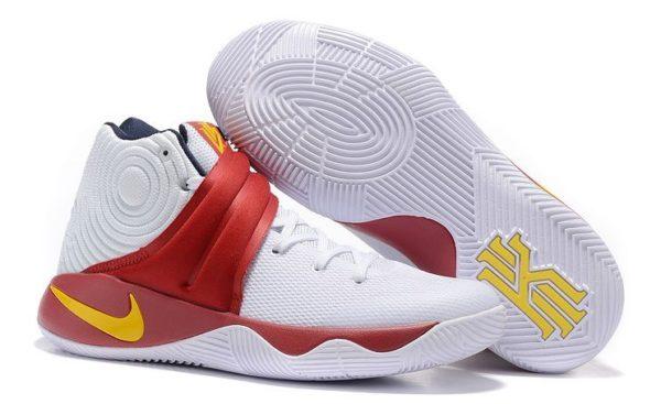 Nike Kyrie 2 White Red бело-красные (40-45)