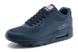 Nike Air Max 90 Hyperfuse синие (35-45)