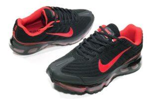 Nike Air Max 360 черные с красным (40-45)