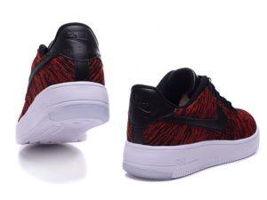 Nike Air Force 1 Low Flyknit красные (41-44)