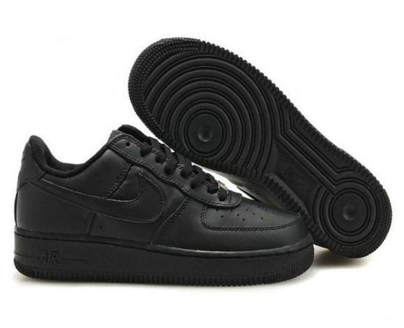 Кроссовки Nike Air Force 1low черные (35-45)