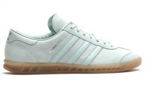 Adidas Hamburg светло-зеленые (35-39)