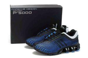 Adidas Porsche Design Sport P'5000 черно-синие с белым (40-44)