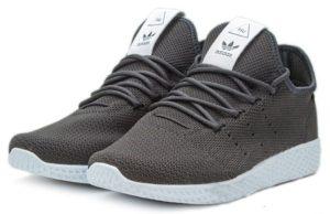 Adidas x Pharrell Williams Tennis Hu черные с белым (40-44)