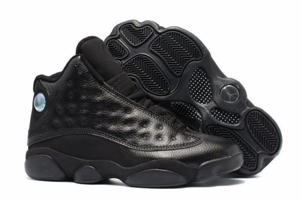 Air Jordan 13 Retro All Black черные (40-45)