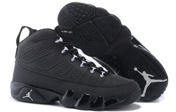 Air Jordan 9 Retro черные (40-44)
