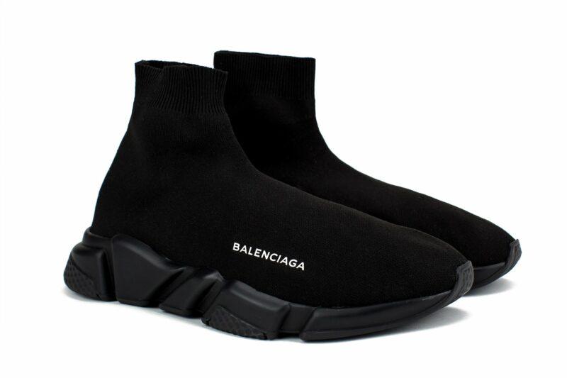 Balenciaga Speed Trainer Black черные женские мужские (35-45)