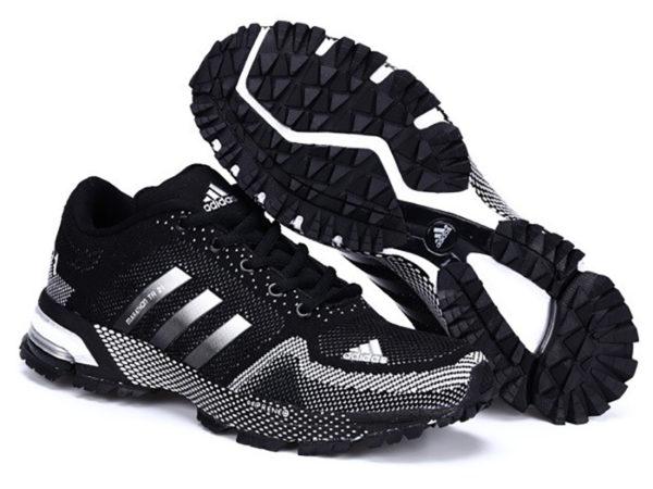 Adidas Marathon tr21 черно-белые