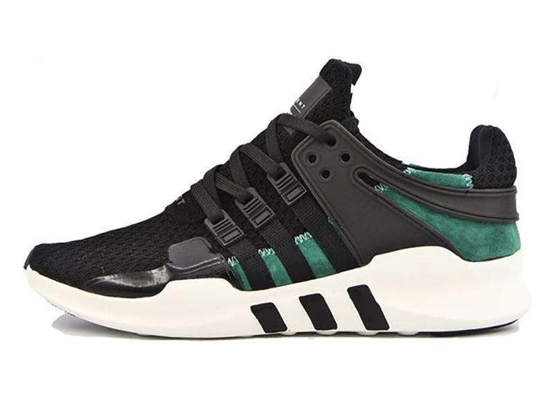 Adidas Equipment черные с зеленым (40-45)