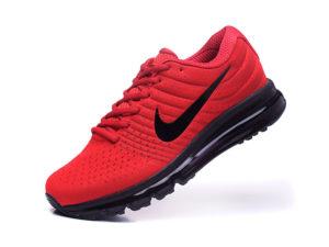 Nike Air Max 2017 красные с черным (40-45)