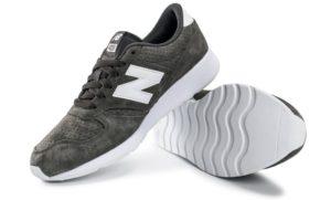 """New Balance 420 """"Suede"""" серые с белым (35-39)"""