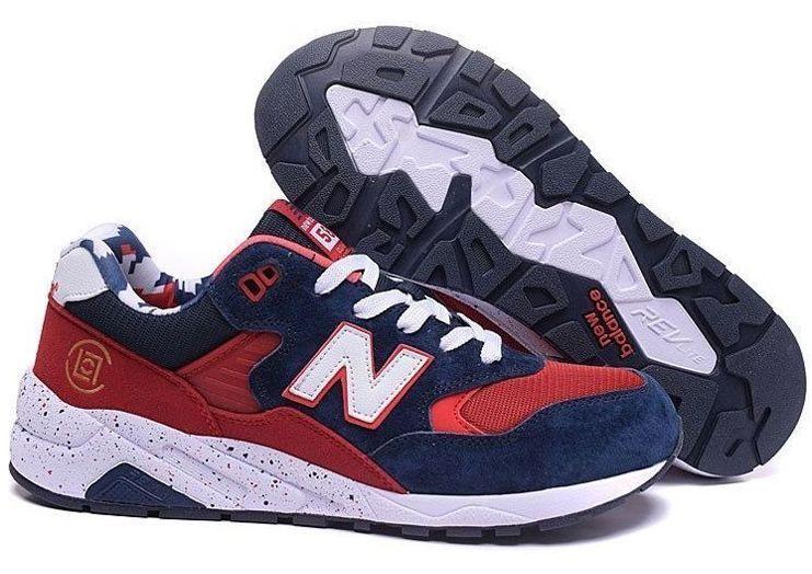 New Balance 580 синие с красным (39-44)