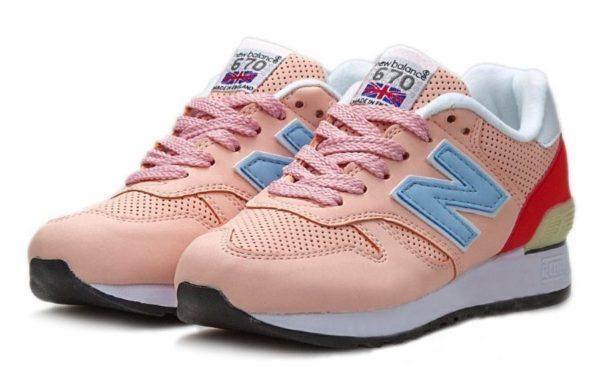 New Balance 670 розовые (35-39)