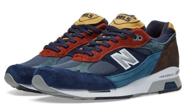 New Balance 991.5 синие с красным (40-44)