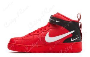 Nike Air Force 1 LV8 Utility Mid красные (35-44)