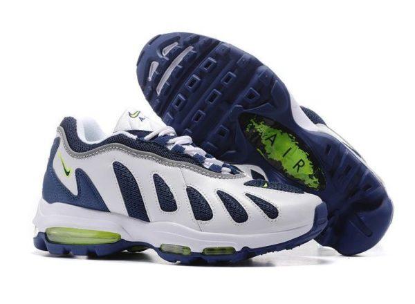 Nike Air Max 96 XX белые с синим (40-45)