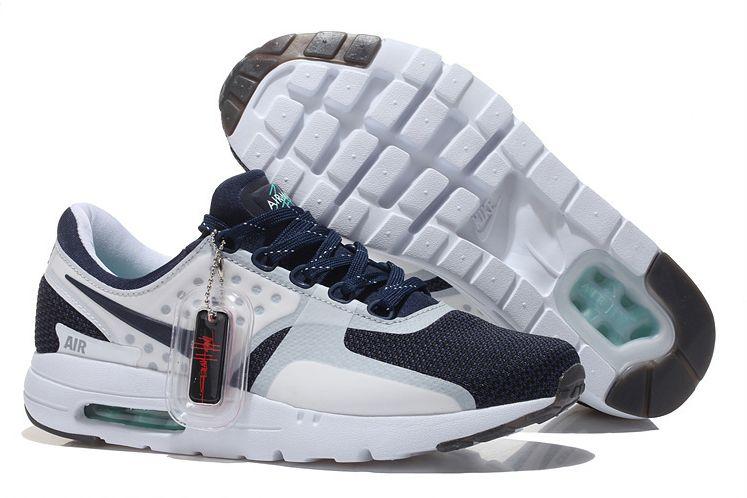 Nike Air Max Zero (Blue/White) синие с белым (40-44)