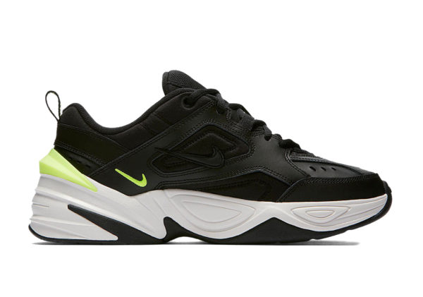 Nike m2k tekno black green 35-44